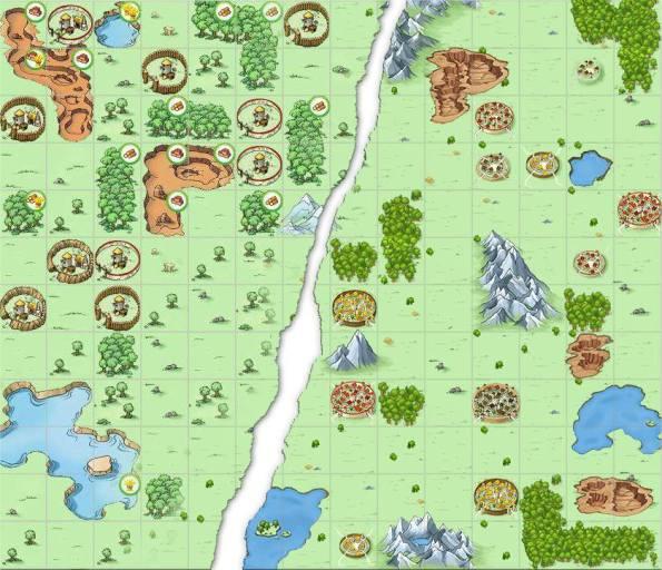 Travian_4.2_map