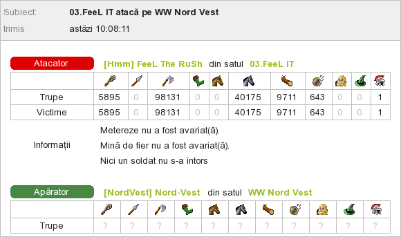 FeeL The RuSh_vs_WW Nord-Vest