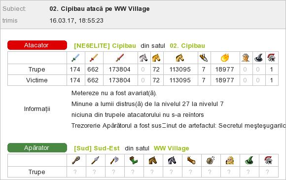 Cipibau_vs_WW Sud-Est