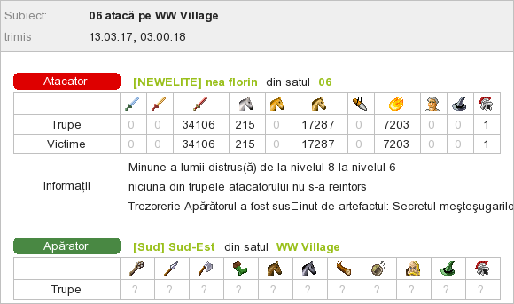 nea florin_vs_WW Sud-Est
