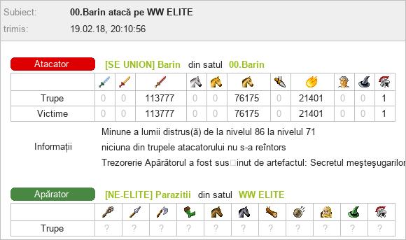 Barin_vs_WW Parazitii