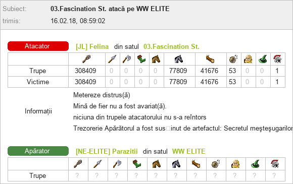 Felina_vs_WW Parazitii